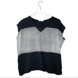 Rag & Bone | Oversized Color block Top